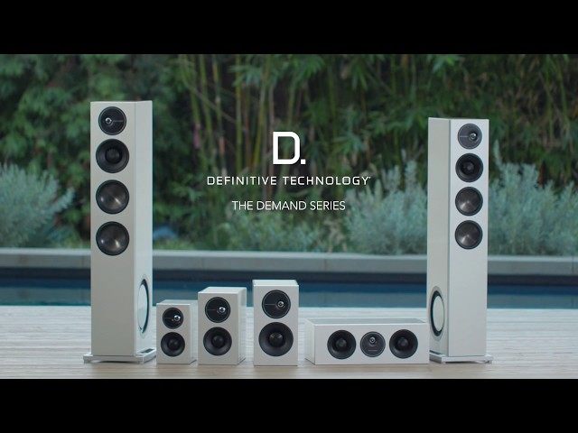 Definitive Technology — Introducing the Demand D7 Bookshelf Speaker