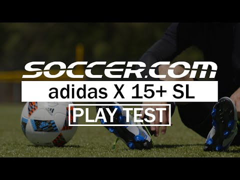 cc75a75cfc6 Play Test Review  adidas X 15+ SL - YouTube