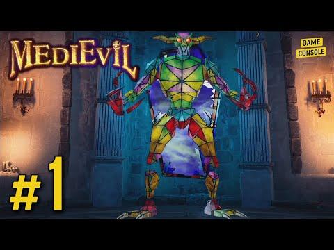Прохождение MediEvil 2019 #1: Витражный Демон