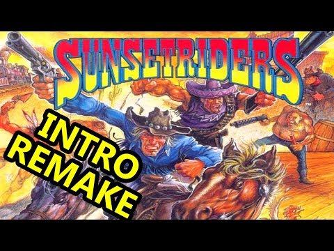 SUNSETRIDERS (INTRO REMAKE 1080p)