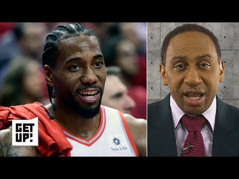 Kawhi is 'the only superstar in this series' - Stephen A. on Raptors exposing Giannis | Get Up!