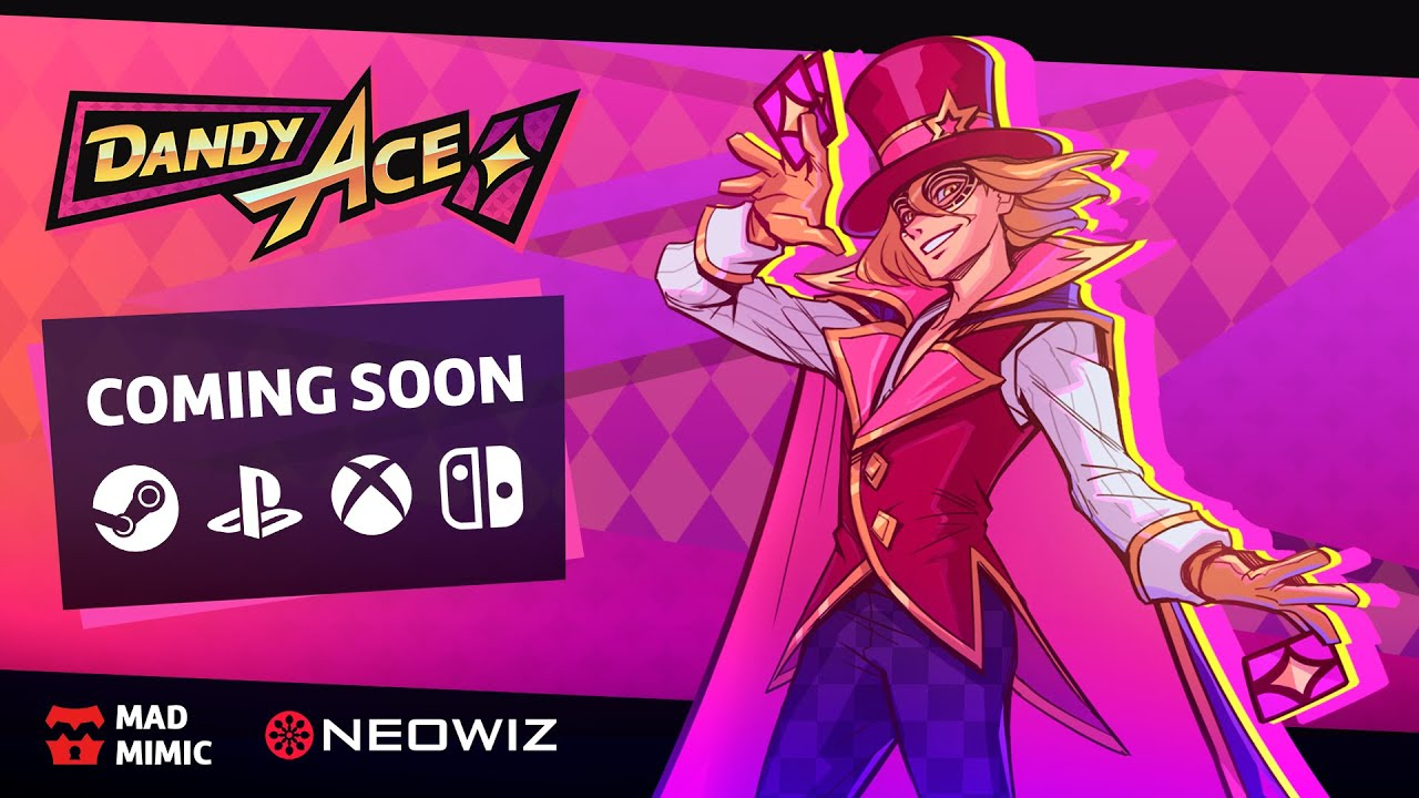 Neowiz Announces Global Publishing of Mad Mimic's Dandy Ace