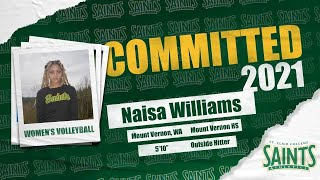 American Naisa Williams joining Saints volleyball