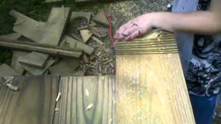 How To Make A 14ft Wood Gate Part 2