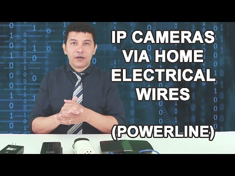 PowerLine Ethernet for CCTV cameras