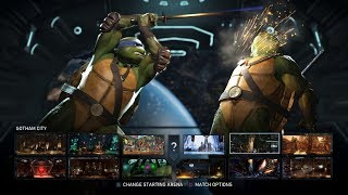 Injustice 2: Ultimate Edition - All Select Screen Animations (All DLC's and Premier Skins)