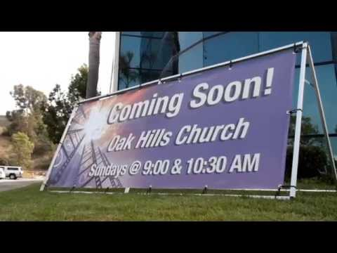 Outdoor Banners On An A Frame Stand Youtube