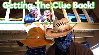Trapped In The Bandits Camp! Getting Mr. E's Clue Back!