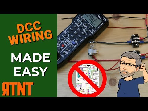 How To Wire A Model Railroad Layout For DCC