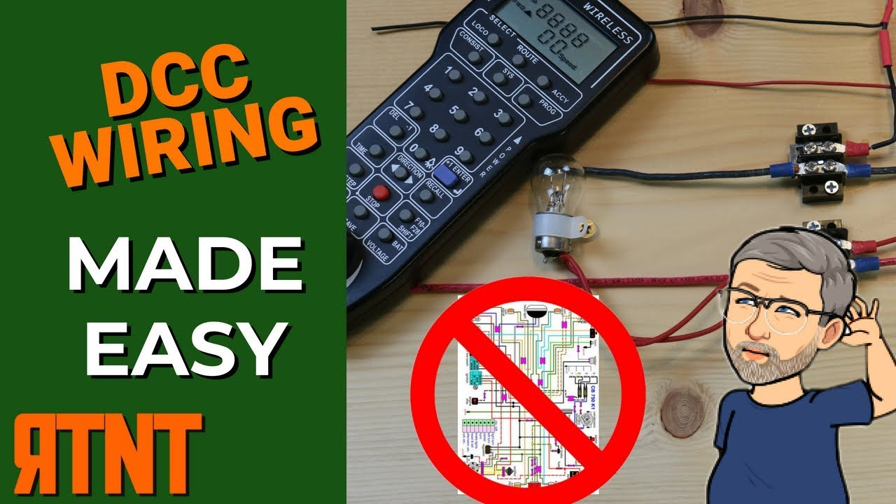 How To Wire A Model Railroad Layout For Dcc Youtube Track Wiring Wye