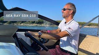 Sea Ray SDX 250 - English Walkthrough