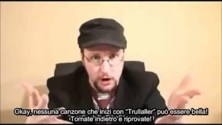 Nostalgia Critic Sub Ita - Eddy e La Banda del Sole Luminoso