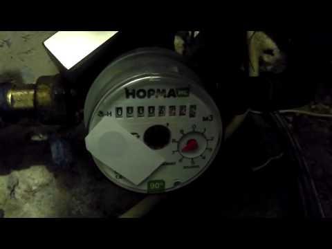 Счетчик воды НОРМА ИС + Неодимовый магнит с Али из Китая.