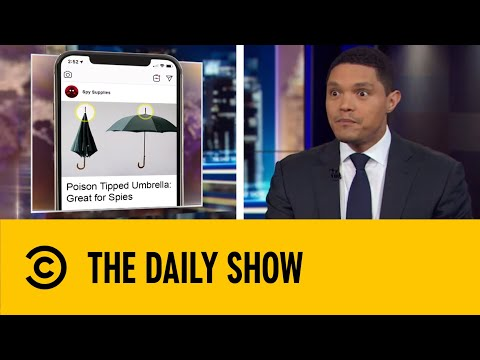 FBI Uses Facebook Ads To Recruit Russian Spies | The Daily Show With Trevor Noah