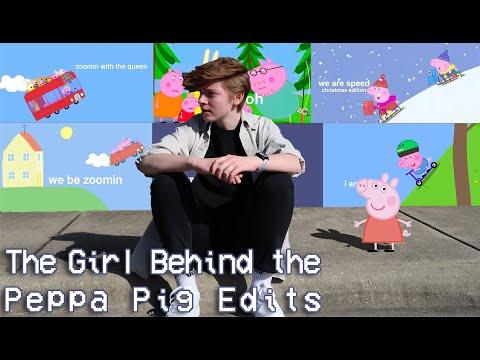 The Girl Behind The Peppa Pig Edits