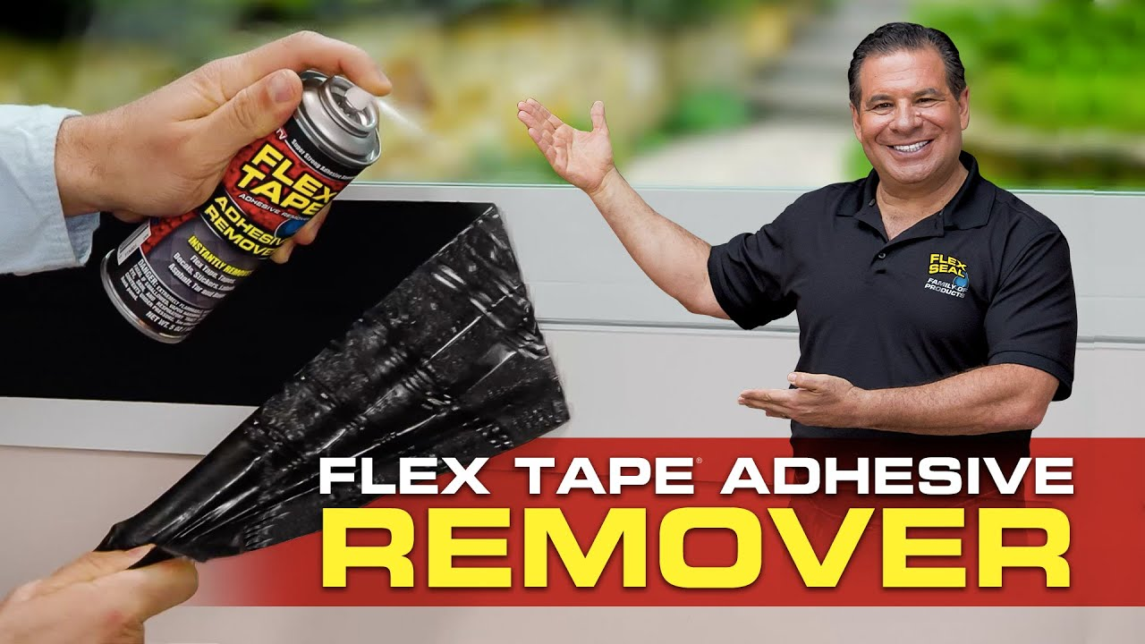 Flex Tape® Adhesive Remover Commercial