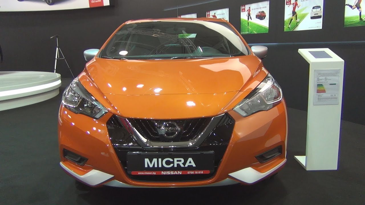 Nissan Micra 1 0 5mt Acenta 2018 Exterior And Interior Youtube