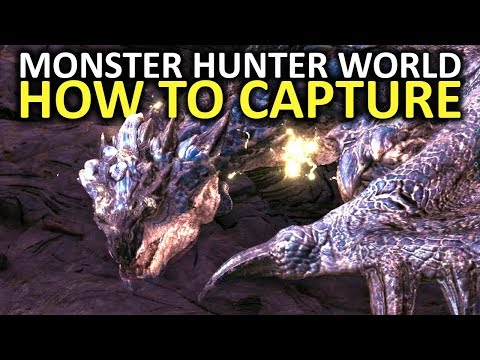 Monster Hunter World Tips - How To Capture Monsters ! streaming vf