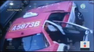 Así se aventó Monserrat del taxi para salvarse de posible secuestro en la CDMX