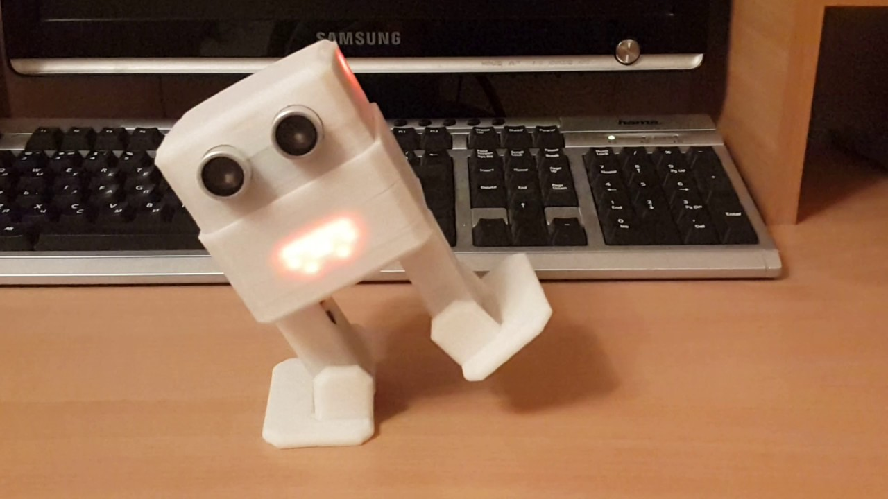 How to make zowi copy arduino robot with modified