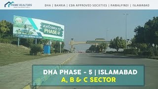 DHA Phase-5, Islamabad | A, B & C Sectors (Previously K, L, M)