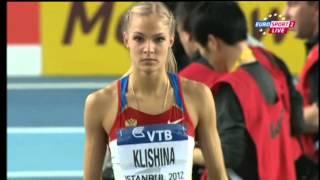 Darya Klishina Дарья Клишина 2012 4v  Istanbul WC indoor March 10-11th