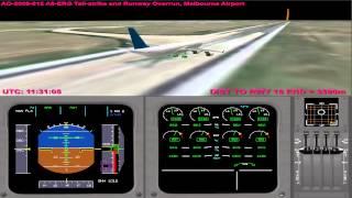 atsb emirates 407 runway overrun and tailstrike