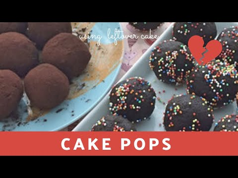 Cake Pops How To Use Leftover Cake Pieces Easy Chocolate Pops