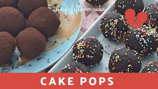 Cake Pops | How to use leftover cake pieces | Easy Chocolate Pops(, 2017-04-13T09:21:37.000Z)