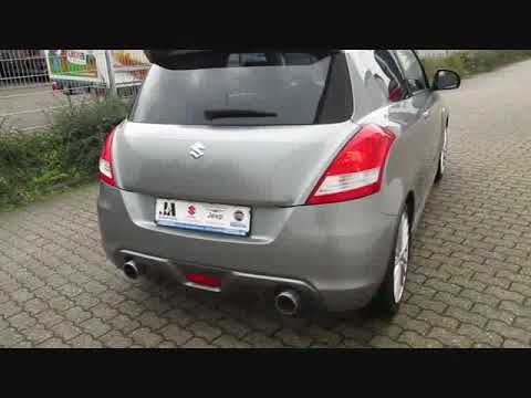 Suzuki Swift Sport Sportauspuf, Tieferlegung . von J&A Automobile GmbH