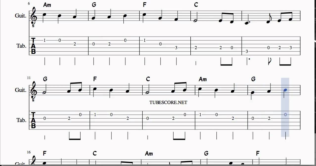 The First Noel Tabs Sheet Music For Guitar With Chords Youtube