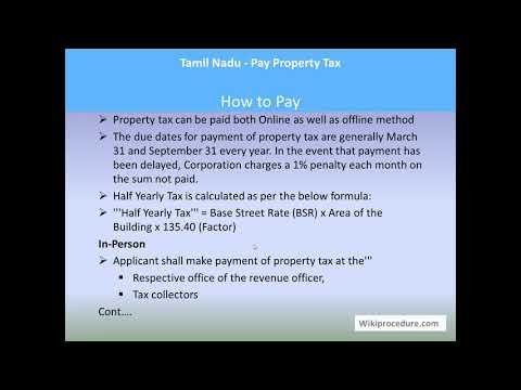 Tambaram - Pay Property Tax