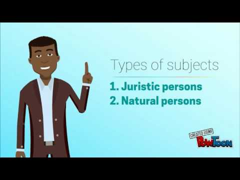 Law of Persons Introduction (Part 1)