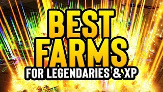 BORDERLANDS 3: BEST LEGENDARY & XP FARMS!! (How to get Level 50 FAST)