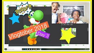 🍁 VLOGTOBER DAY 3 |😝 GOOGLE THEN PRINT PICS WITH ME | Enter To Win Our Robux 🎃🤑 Raffle | 2018 🍁