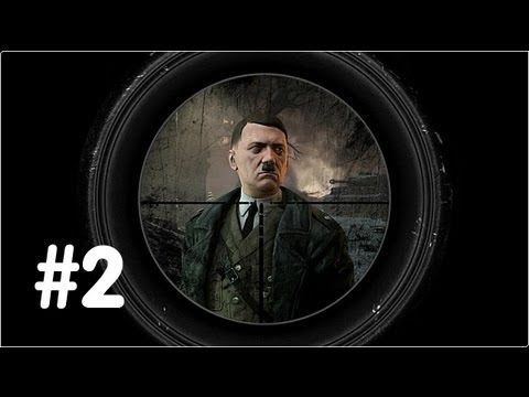 Sniper Elite V2 Gameplay Walkthrough - Part 2 - Schonenberg Streets - (Xbox 360/PS3/PC) HD