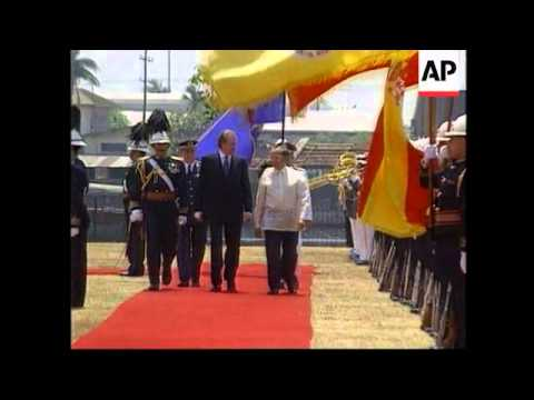 PHILIPPINES: KING JUAN CARLOS AND QUEEN SOFIA OF SPAIN VISIT