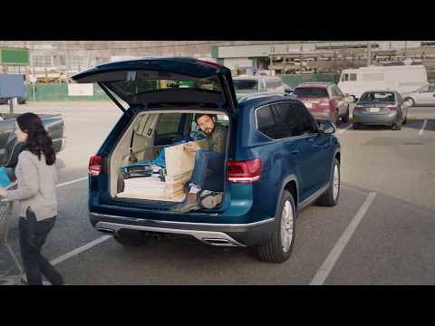 2018 Volkswagen Atlas SUV--Folding Seats and Cargo Space