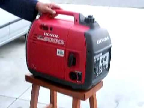 обзор и обслуживание бензогенератора Honda EG5500CXS - YouTube