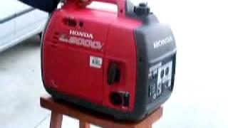 видео Инверторные генераторы Honda