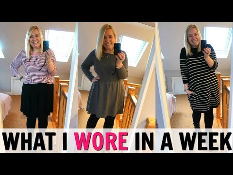 WHAT I WORE IN A WEEK: School Run Mum!