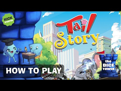 Tail Story Board Game - A Kickstarter How to Play with Stella & Tarrant.