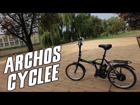Archos Cyclee - test, recenzja, review roweru wspomaganego elektrycznie