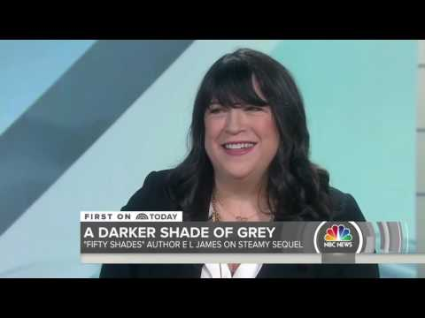 E L James Talks Fifty Shades Darker (New Scenes) on Today Show HD