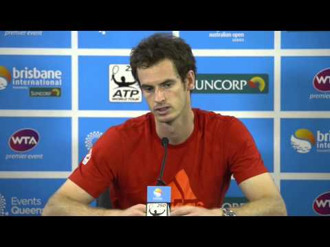 Andy Murray Semi Final Press Conference:...