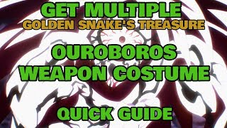 How To Get Ouroboros Costume Weapon