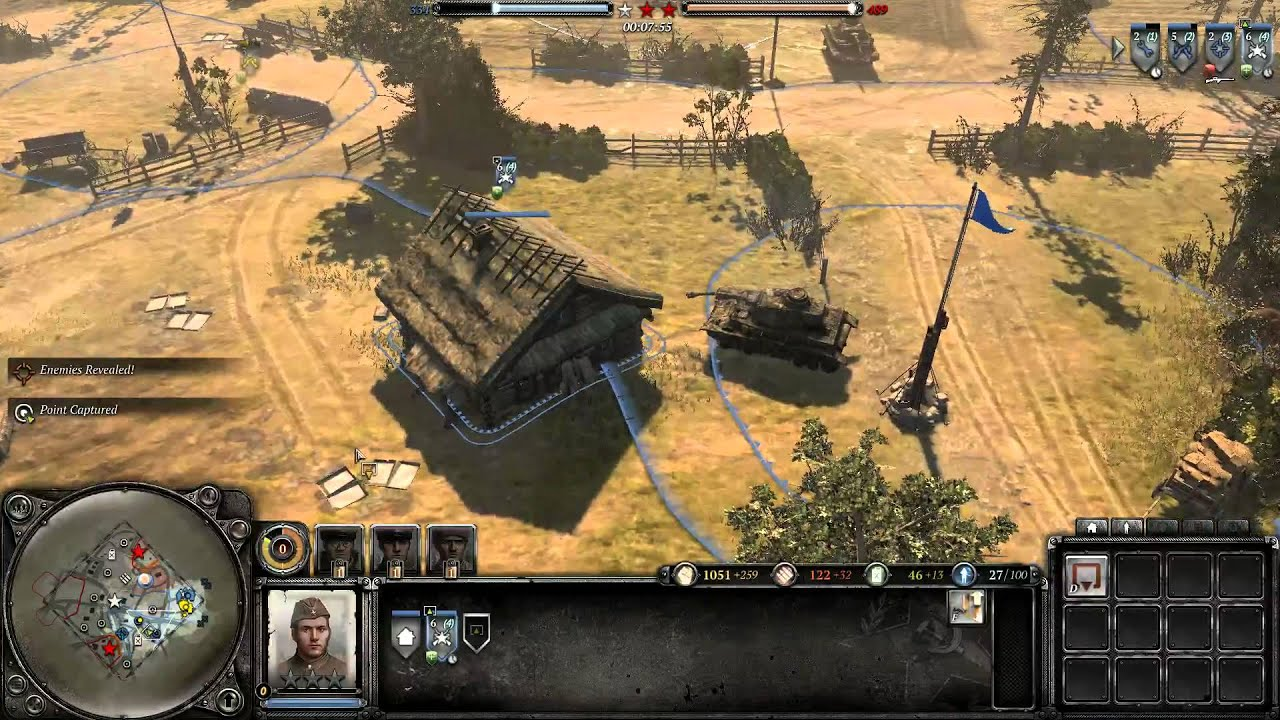 Company Of Heroes 2 Basic Guide Hotkeys Secrets Tips Youtube