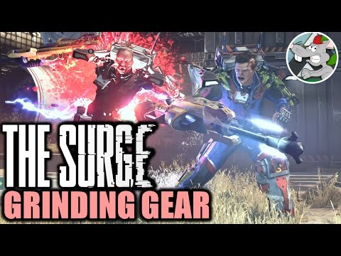 THE SURGE GAMEPLAY - LEVELING UP FOR BOSS FIGHT (RECORDED LIVESTREAM)