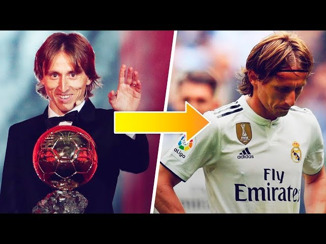 What the hell happened to Luka Modric? - Oh My Goal