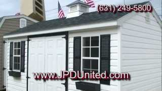 "Shed Video 8: ""the Cape"" Shed"" -- Farmingdale New York (ny) Jpd United"